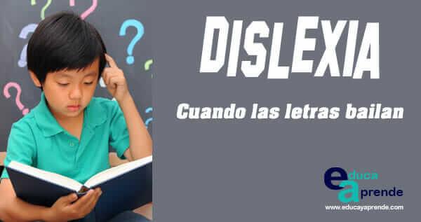 dislexia, dislexia infantil, dislexia en niños