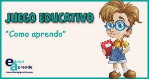 estilo de aprendizaje, formas de aprender