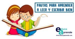 leer y escribir bien
