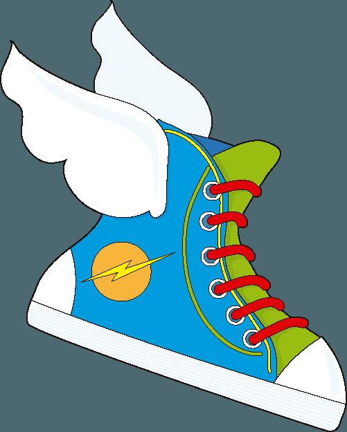 Cuento infantil: Matías y las zapatillas mágicas