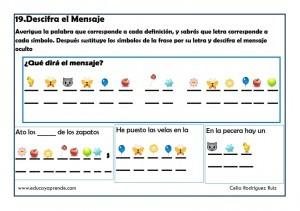 Fichas Didacticas Desarrollar La Comprension De Los Mensajes
