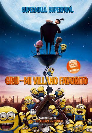 Mis películas favoritas: GRU. Mi villano favorito