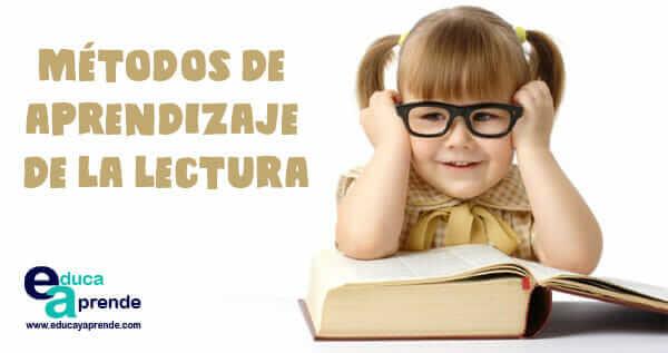 aprendizaje de la lectura