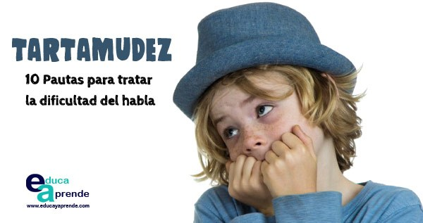 TARTAMUDEZ, DIFICULTADES DEL HABLA