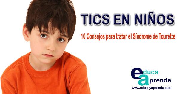 tics en niños,Síndrome de Tourette
