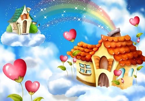 Cuento infantil: El día que conocío el arco iris