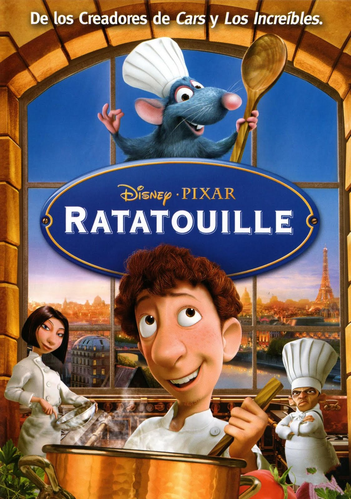 Mis películas favoritas: Ratatouille