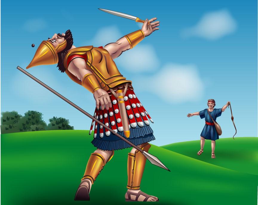 Mitos y leyendas: David y Goliat