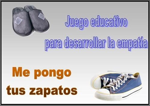 Juego educativo para desarrollar la empatía: Me pongo tus zapatos