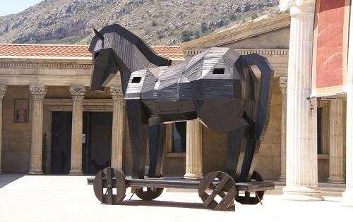 Mitos y leyendas: El caballo de Troya