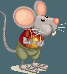 Cuento para niños: Un ratón genio