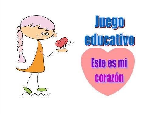 Juego educativo: Este es mi corazón