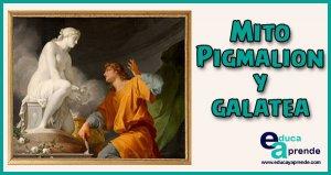 Pigmalion, Mito de Pigmalion y Galatea