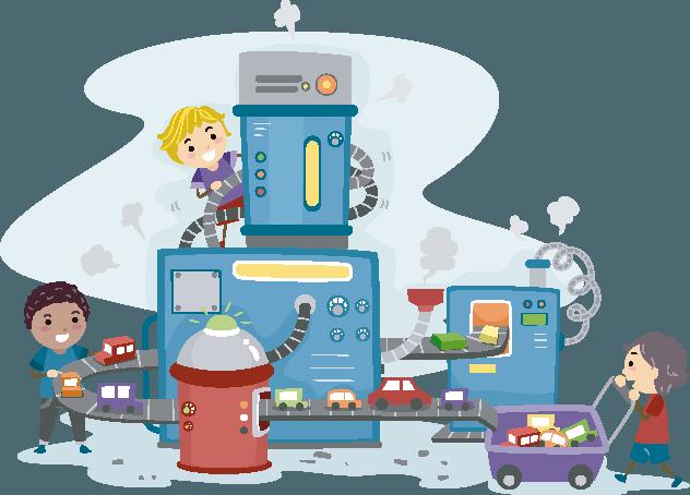 Cuento infantil: La máquina de romper miedos