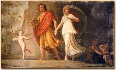 Mitos y leyendas: Orfeo y Eurídice