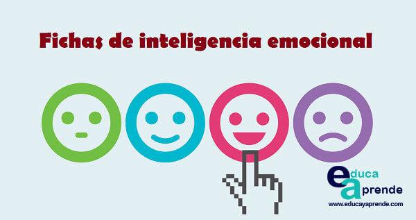 fichas inteligencia emocional, inteligencia emocional