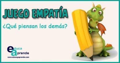 juego empatía, desarrollar la empatía