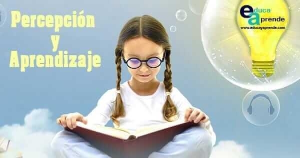 percepción y aprendizaje, aprendizaje