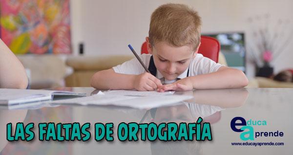 faltas de ortografía, reglas ortográficas