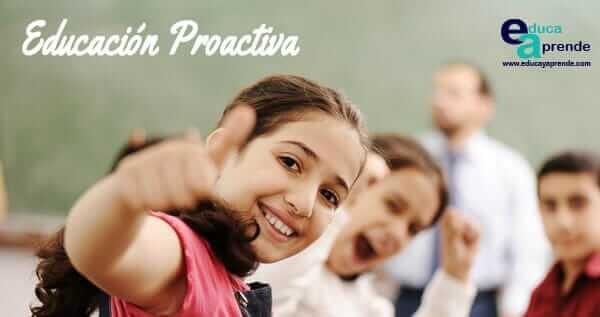 educación proactiva