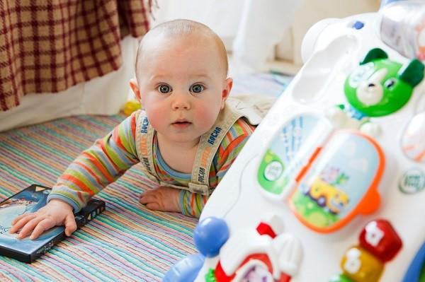 La importancia del juego en el desarrollo del bebé