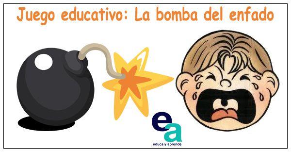 Juego educativo La bomba del enfado