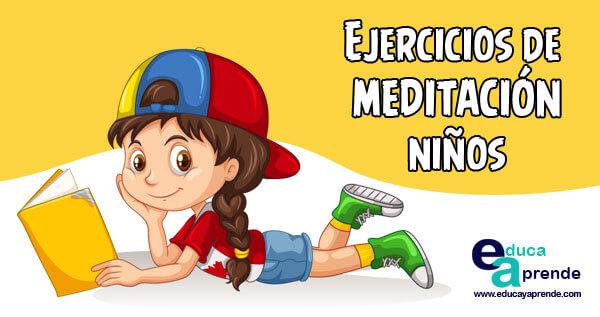 Ejercicios De Meditación Para Niños Mindfulness