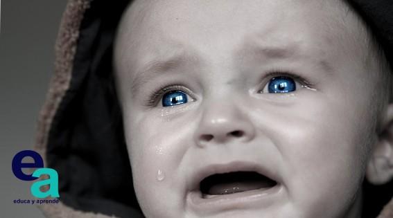 Mi bebé llora mucho