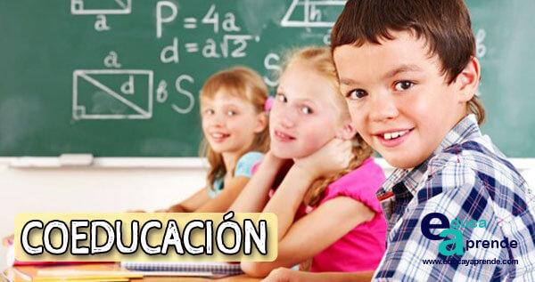 coeducación, coeducación en la escuela