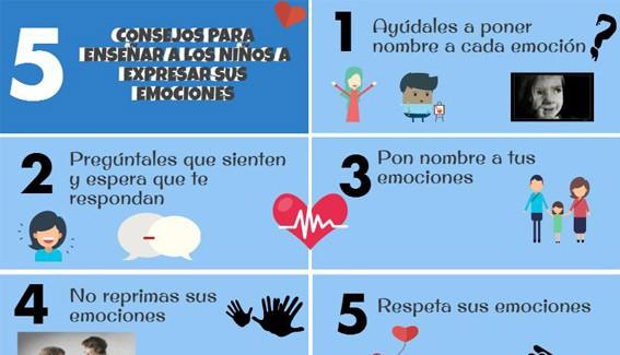 5 Consejos para enseñarles a expresar sus emociones