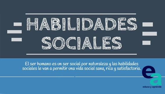 infografia habilidades sociales