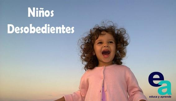 ¿Qué podemos hacer cuando los niños son desobedientes?