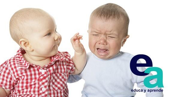 La agresividad infantil Cuando el bebé responde agresivo