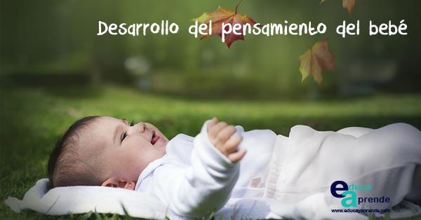 El desarrollo del pensamiento del bebé