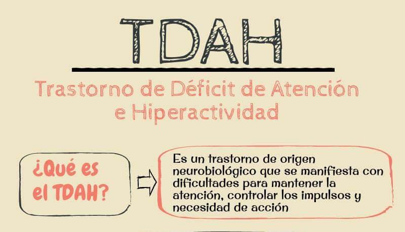 Infografía TDAH: Pautas para tratar al niño con Hiperactividad