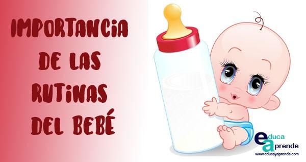 rutinas del bebé