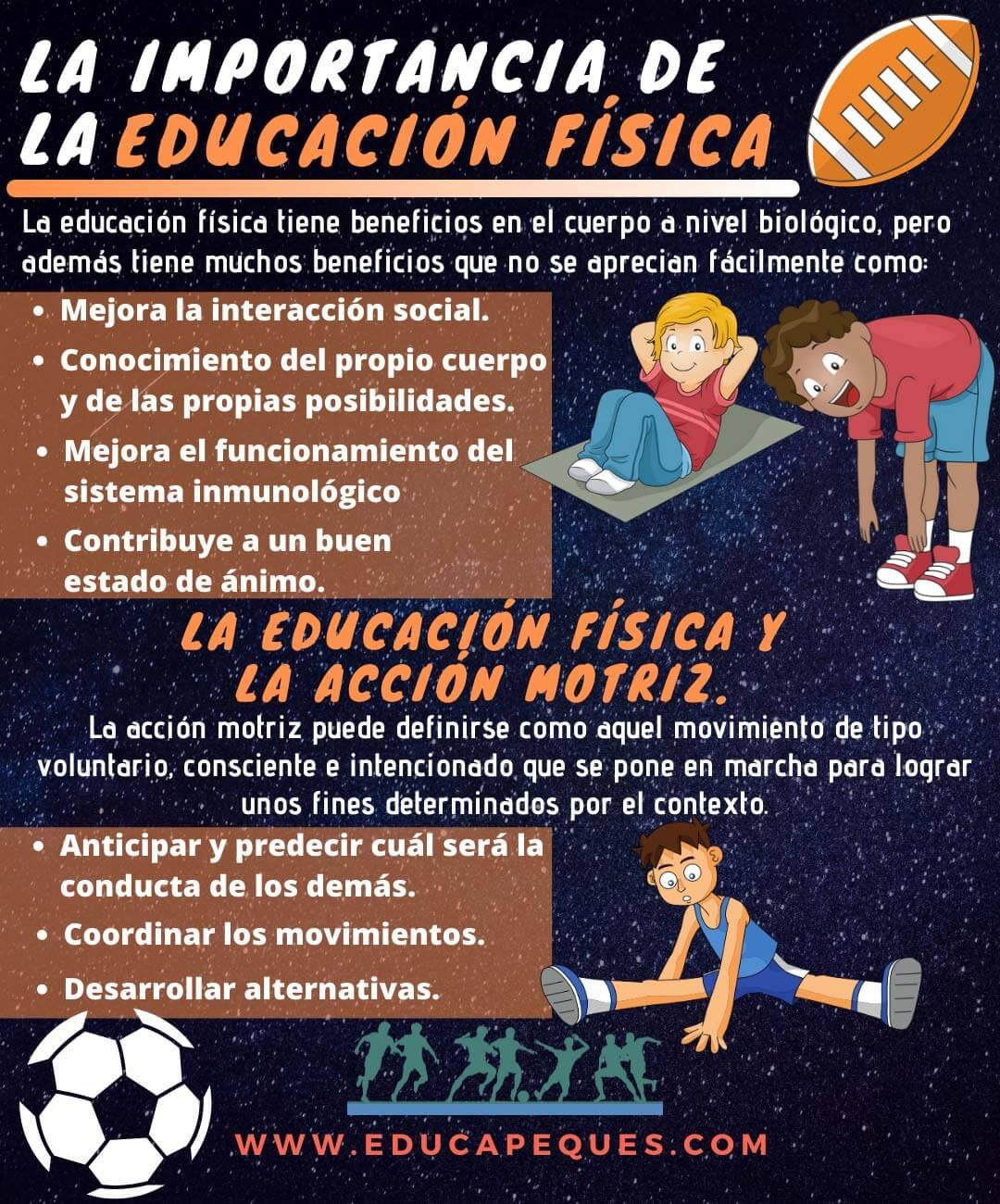 La Importancia De La Educación Física En Los Niños Y Niñas