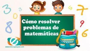 Como resolver problemas de matemáticas