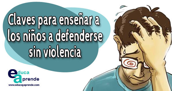 defenderse sin violencia